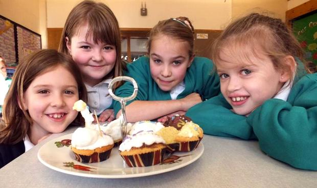 Sweet treats help get Westbury school in Olympic mood