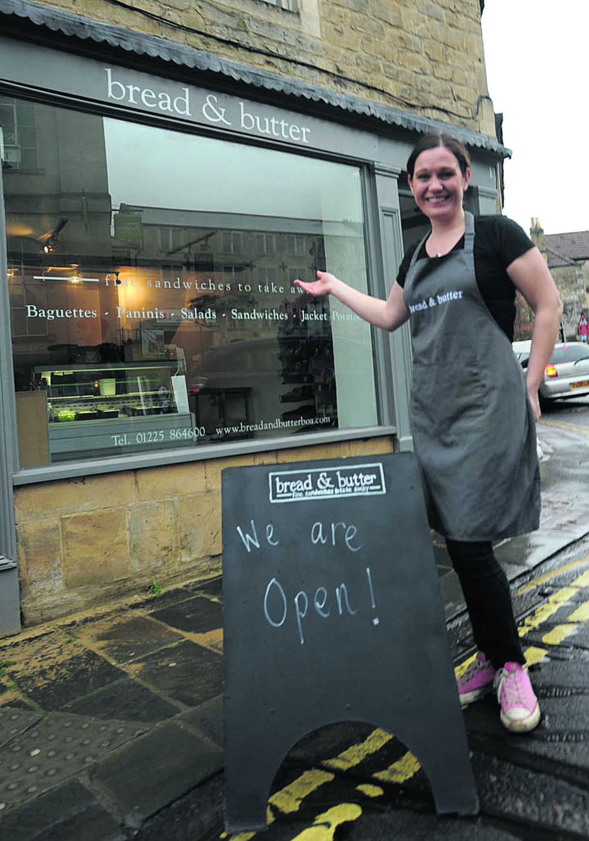 Orders are flooding back in at Bradford sandwich shop