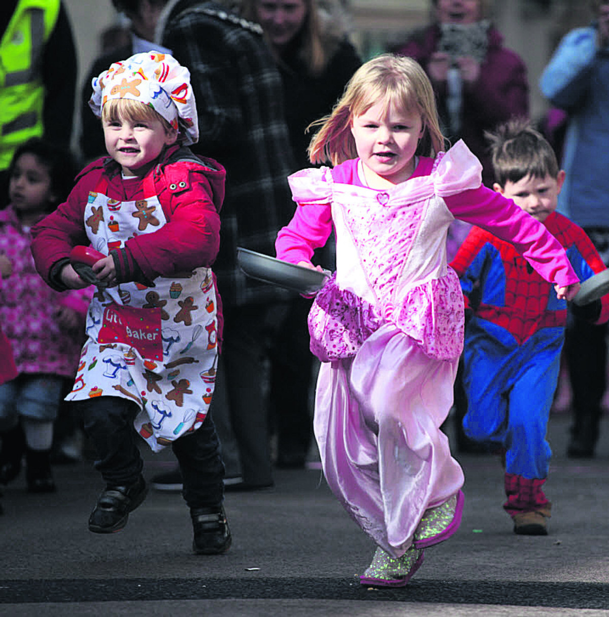 Record entry for Chippenham pancake races
