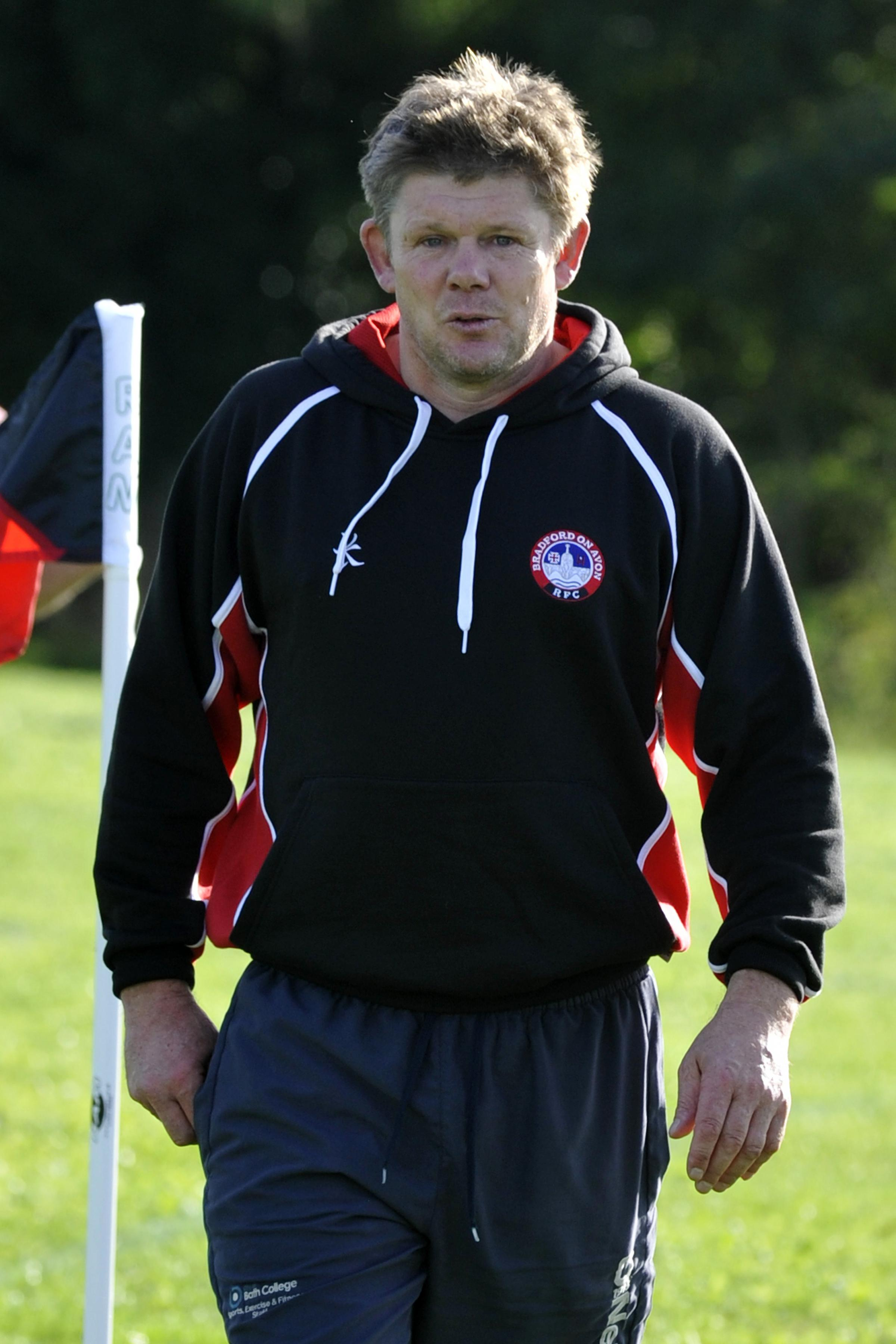 Bradford head coach Dave George