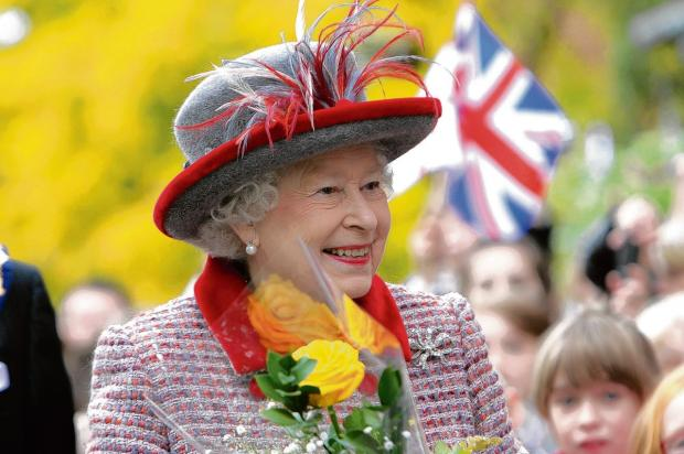 The Queen will 'break' the Commonwealth Flag outside Westminster Abbey on Monday, with over 500 flags then raised across the UK including at County Hall, Trowbridge