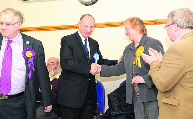 Wiltshire Times: Conservative candidate Jerry Wickham will attend his first area board since winning the Ethandune by-