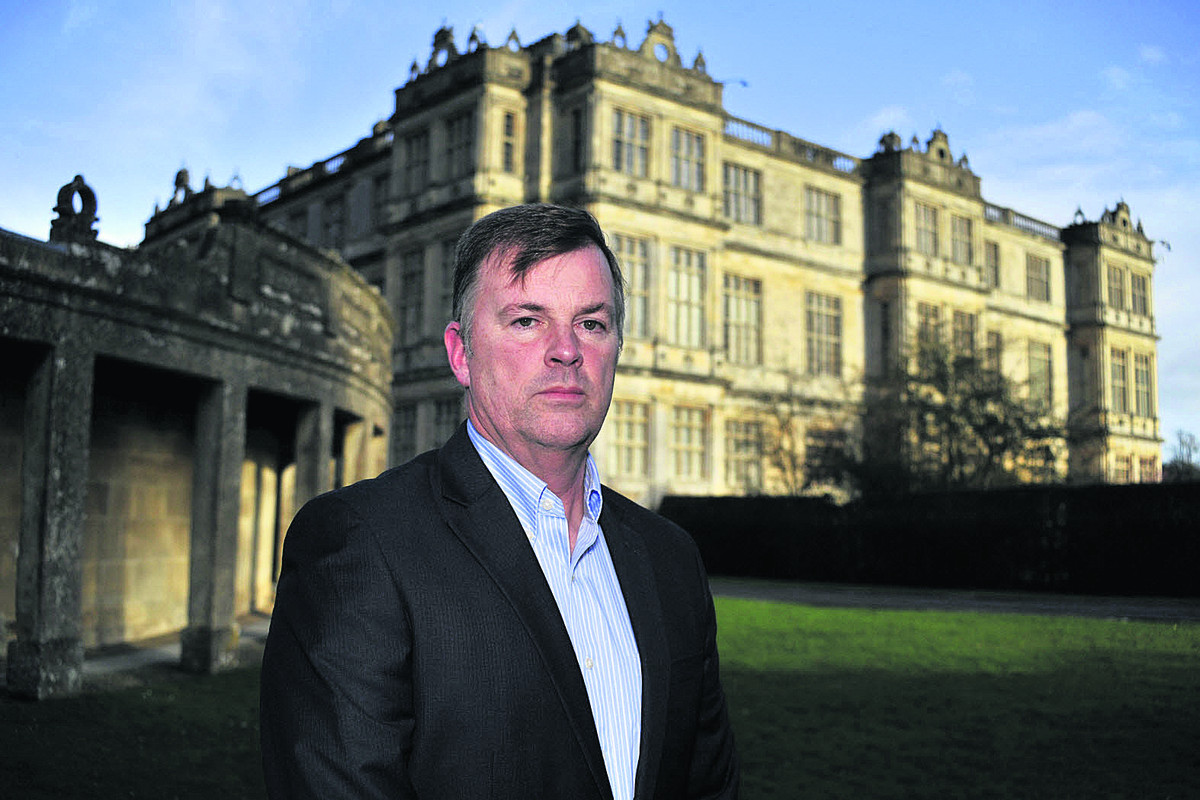 Longleat CEO Bob Montgomery wants to build stronger relationships with local residents