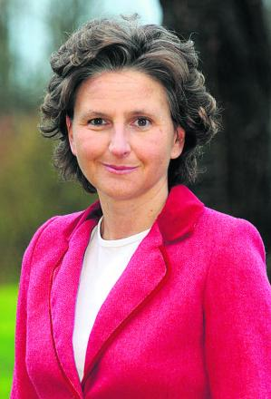 Coun Laura Mayes, Wiltshire's cabinet member for children's services