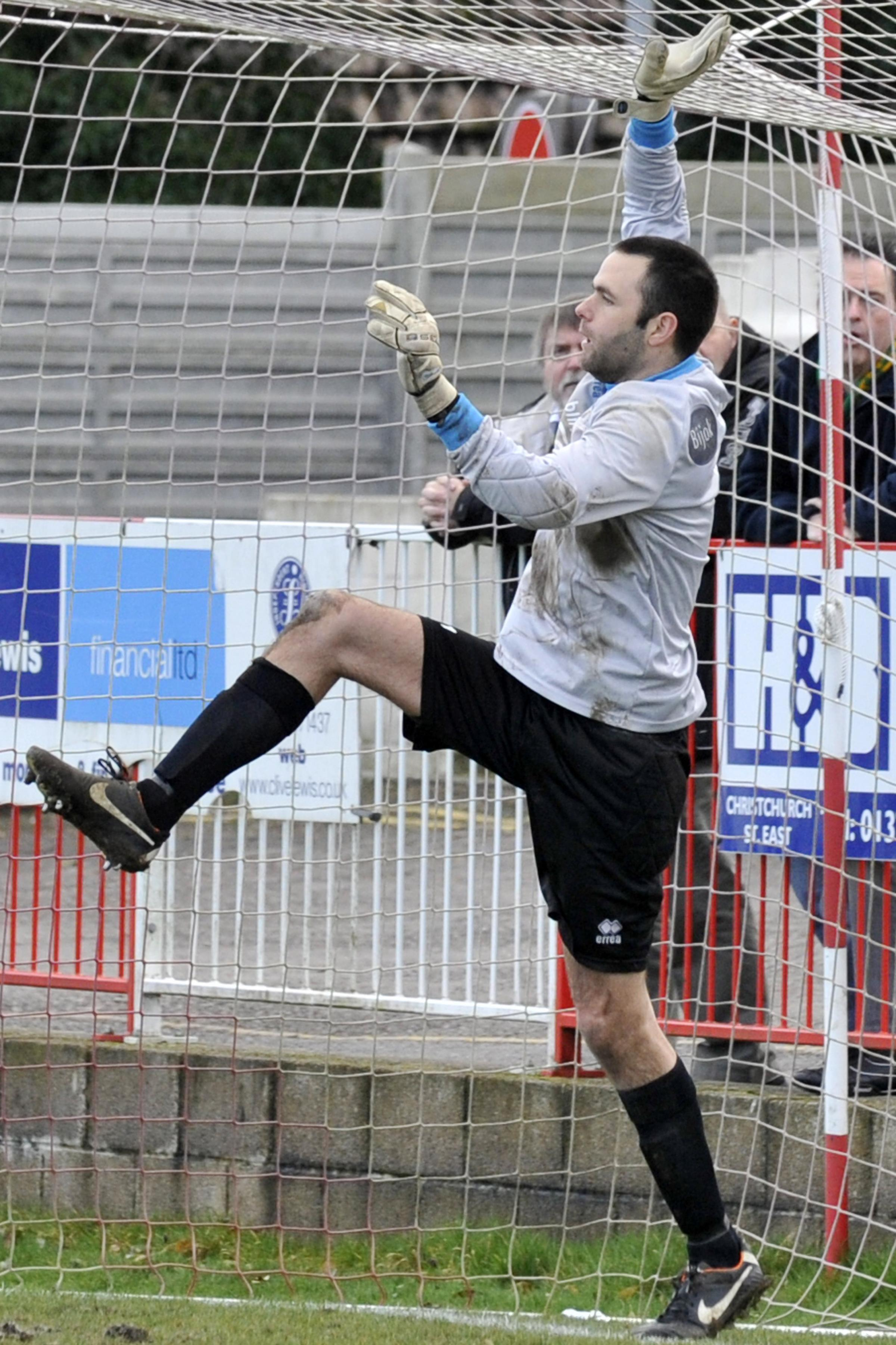 Darren Chitty kept a clean sheet for Frome