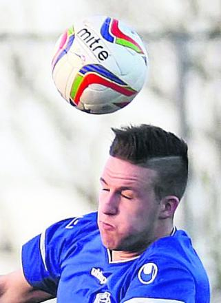 Chippenham Town's on-loan defender Aaron Oakley
