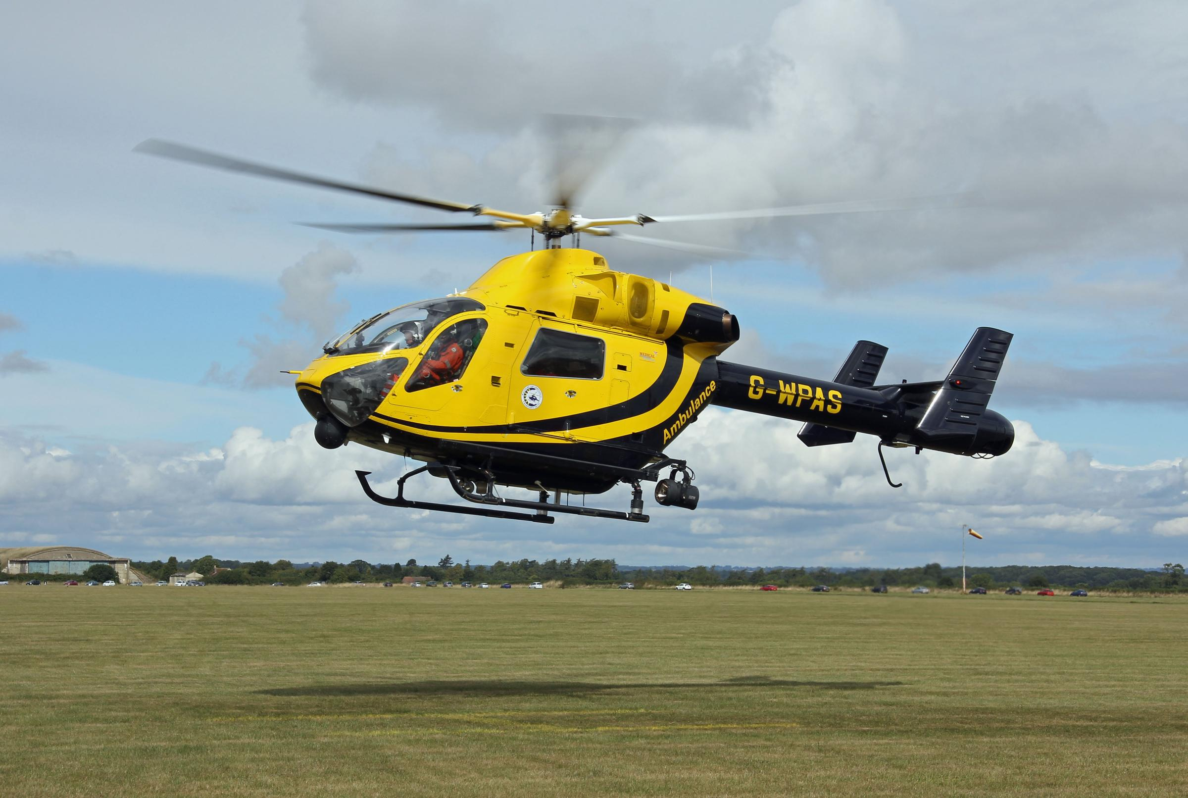 Lotto more aid for Wiltshire's air medics