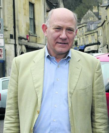 Gerald Milward-Oliver, director of Bradford on Avon Development Trust, supports the Historic Core Zone