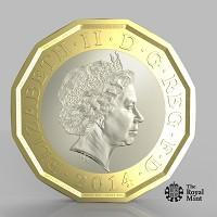 Wiltshire Times: The new one pound coin announced by the Government will be the most secure coin in circulation in the world (HM Treasury/PA)