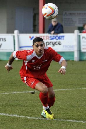 Kris Miller was on target for Frome