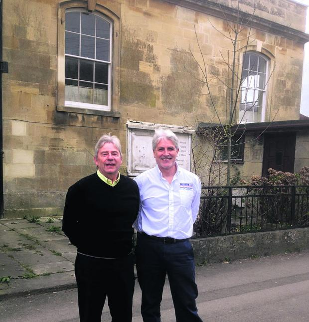 Wiltshire Times: Procol directors Nick Denning, , left, and Roy Bertuello