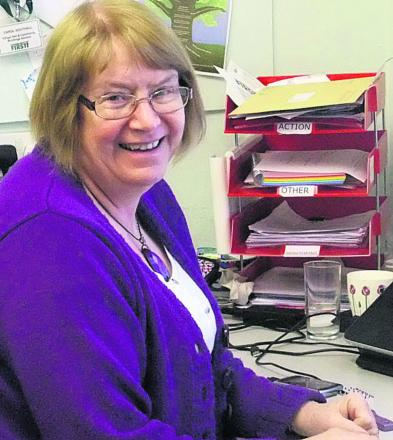 Carol Southall, the village hall and community buildings advisor for Community First Wiltshire