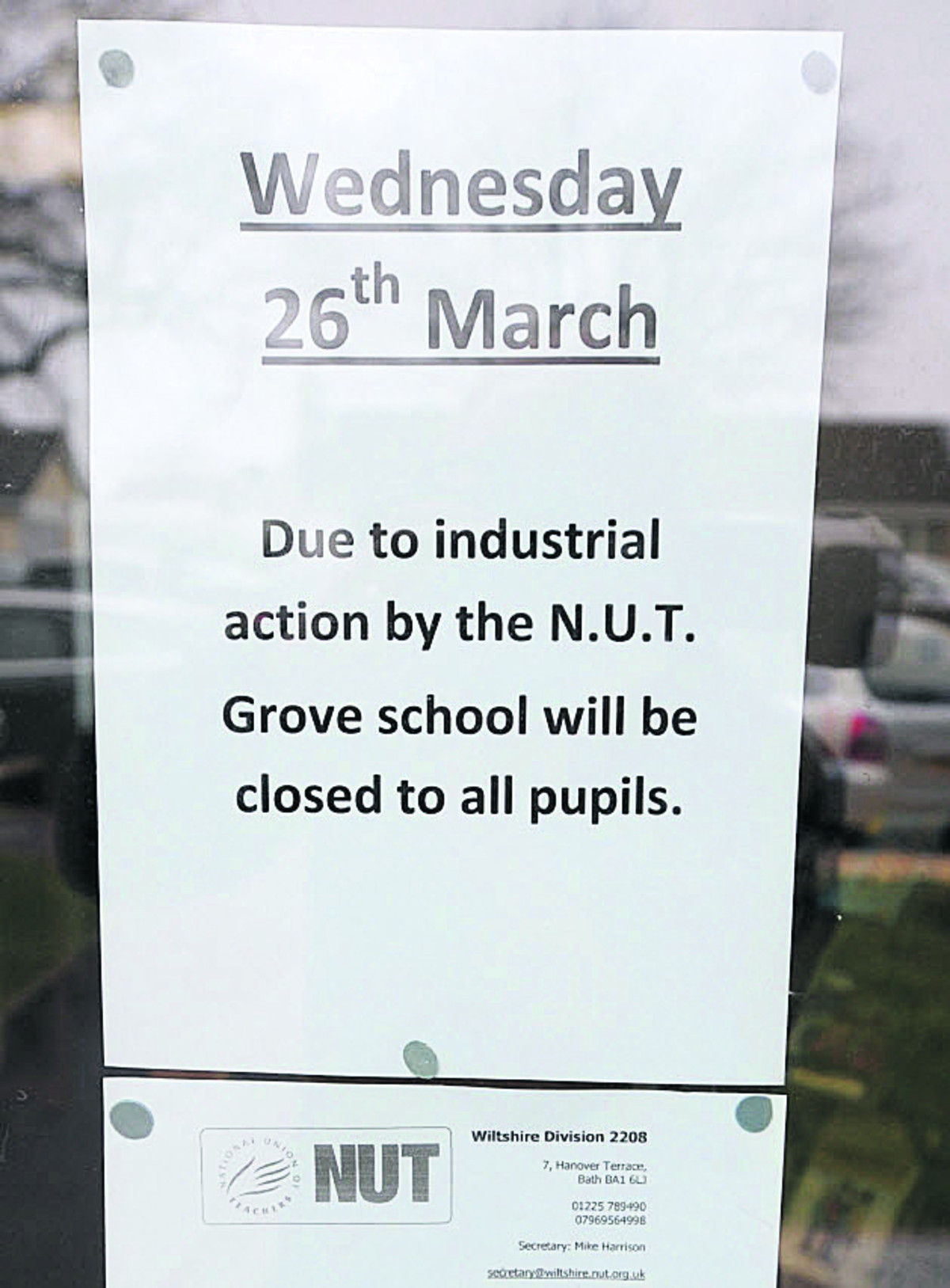 Almost all schools to be hit by teachers' strike, says NUT