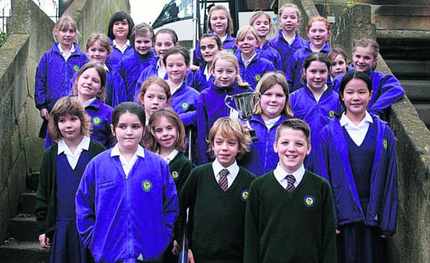 Choir hits right note at festival