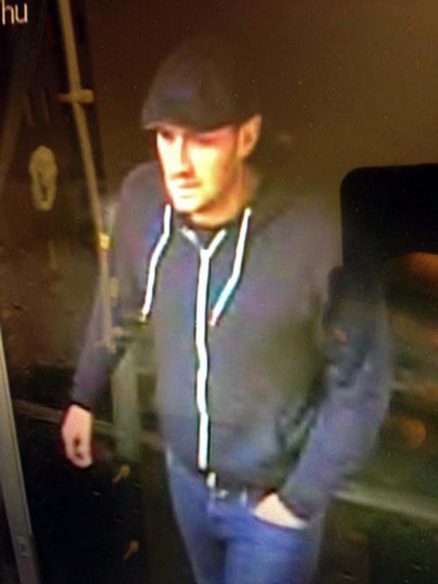 Wiltshire Times: Police have issued CCTV images of a man they want to speak to after £290 was scammed from the Tesco Expres