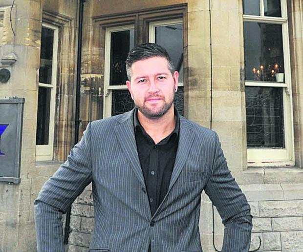 Chippenham restaurateur Chris Bonsor is president of the town's chamber of commerce