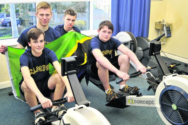 An oarsome row to fund Africa trip