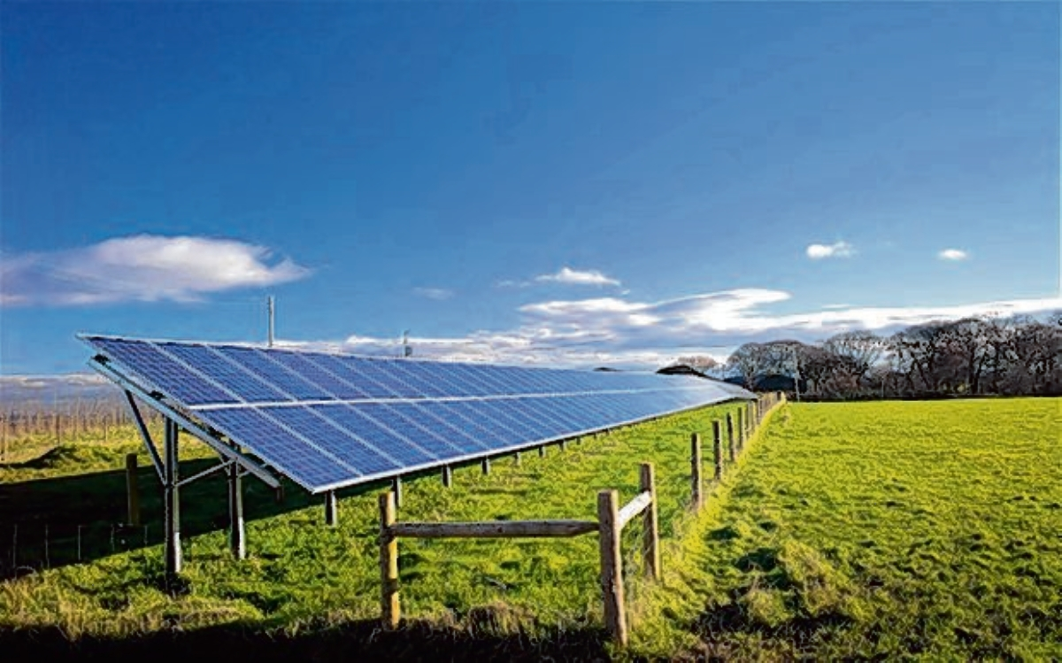 The area has recently seen a solar goldrush