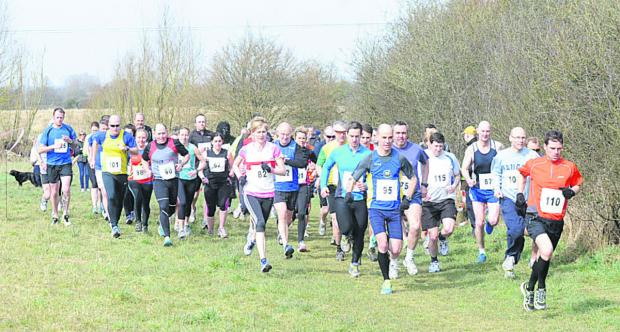 Runners taking part in last year's Trowbridge Lions 10k event