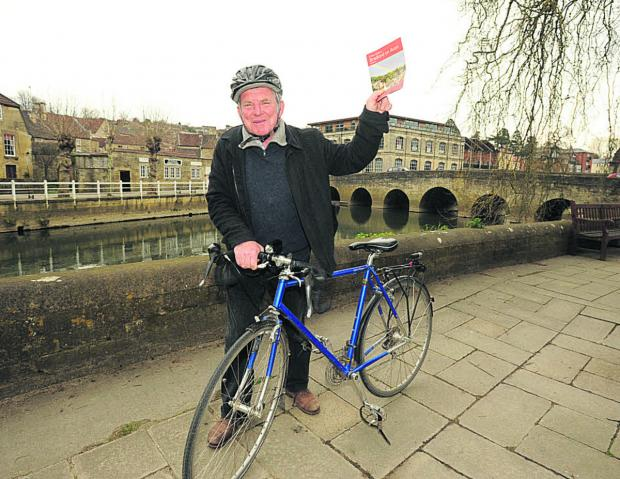Bradford on Avon mayor John Potter is excited about the Tour of Britain coming to town