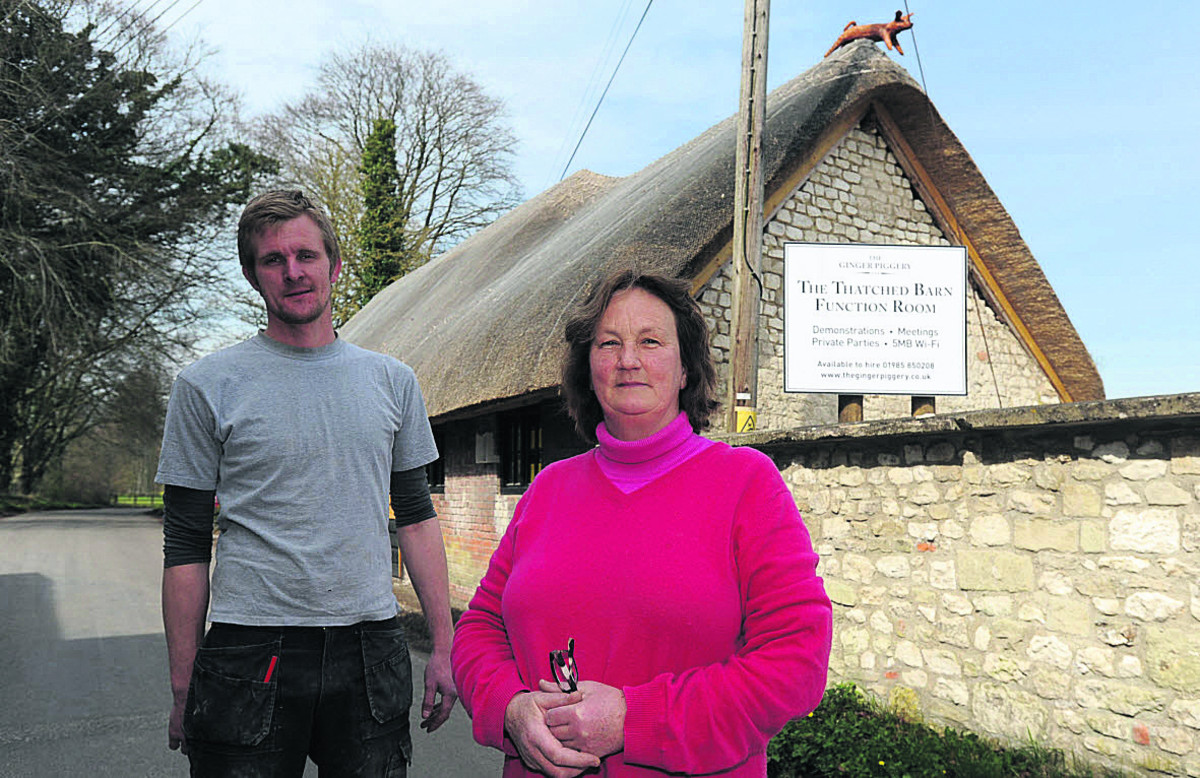 Warminster barn is back and in business