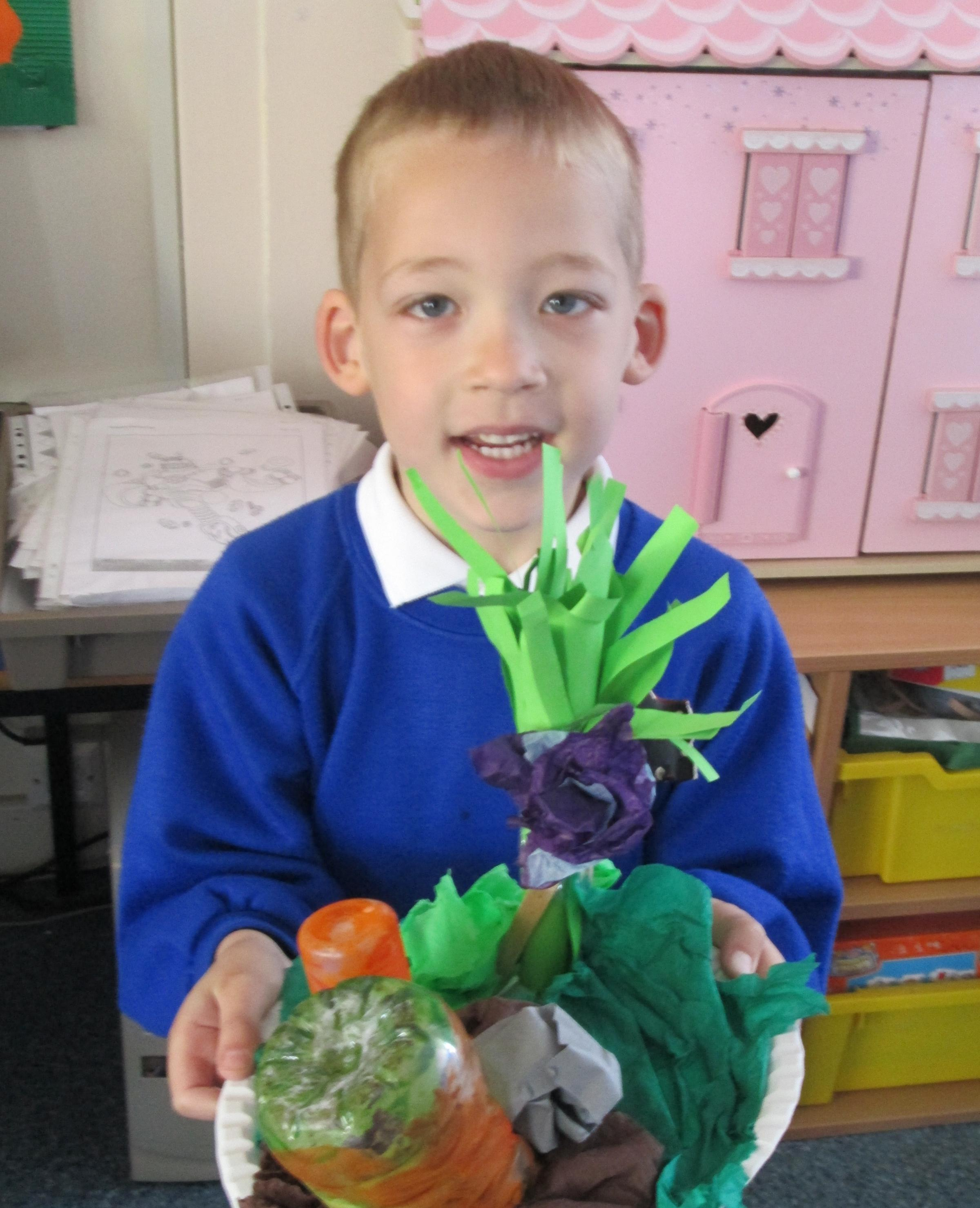 Schoolchildren learn the value of Easter