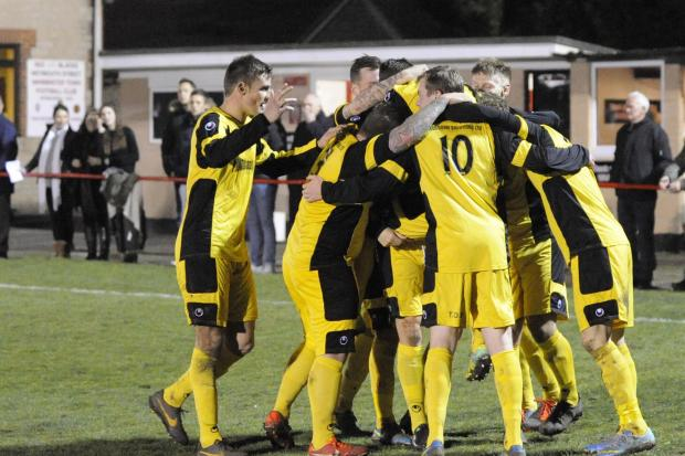 Bradford Town sealed the Toolstation League First Division title last night
