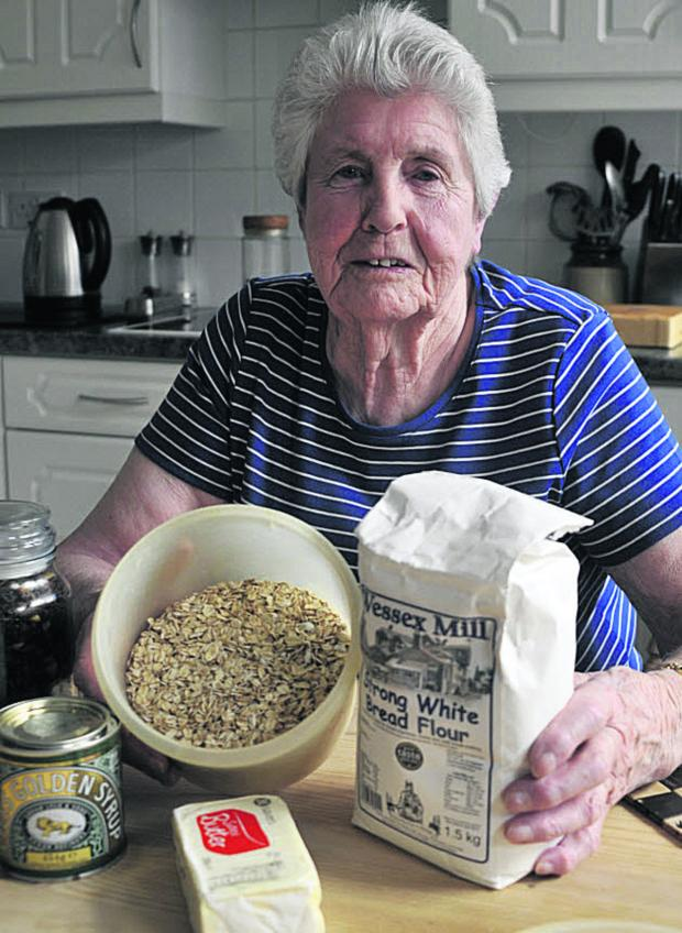 Wiltshire Times: Edington villager Vera Tottingham was featured in BBC2 programme Great British Menu this week