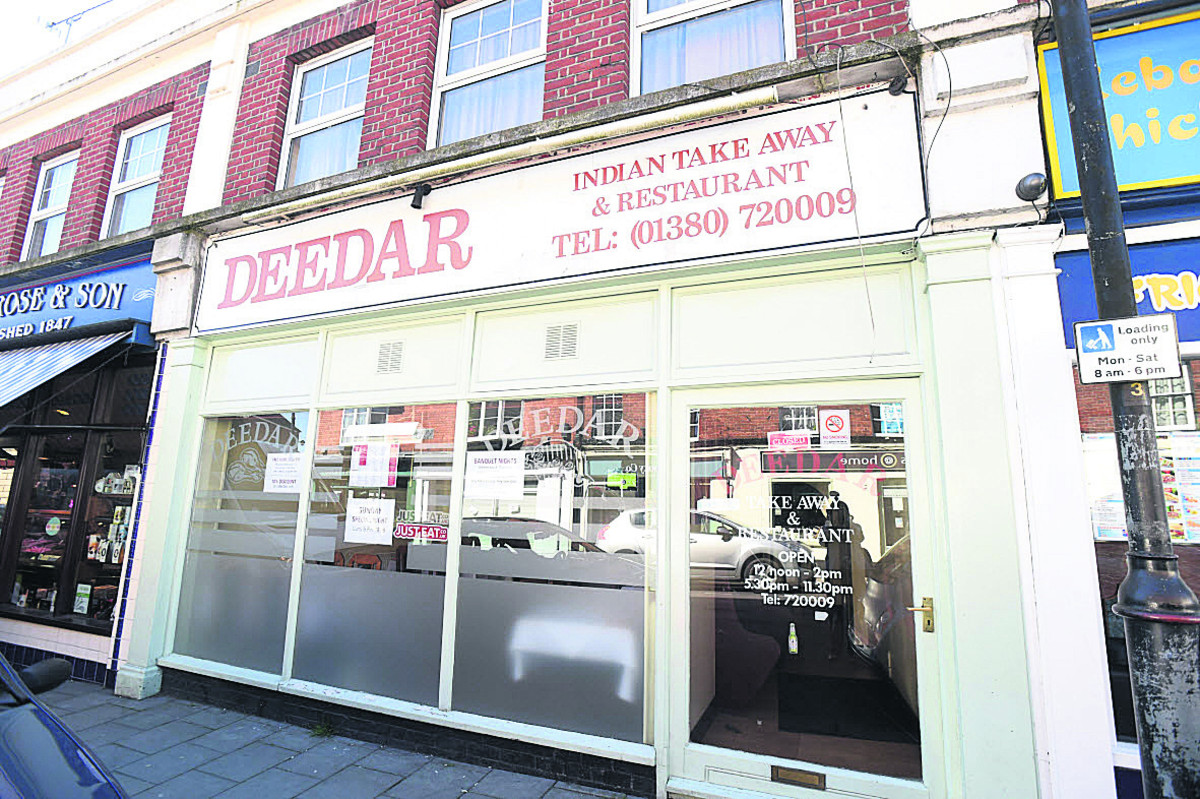 The Deedar restaurant and takeaway in Sidmouth Street