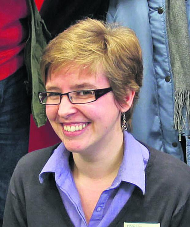 Wiltshire Times: Community librarian Jessica Phillips
