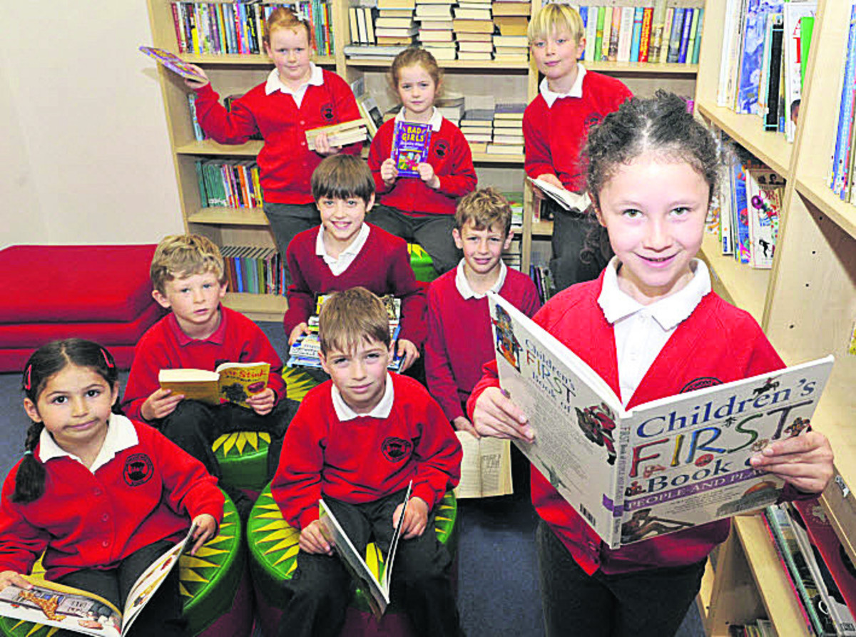 Westwood with Iford Primary School is appealing for children's books to complete the stock in their new community library due to open in May. (49354-3) Pictur
