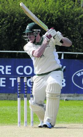 Neil Clark scored a century as Wiltshire beat Shropshire