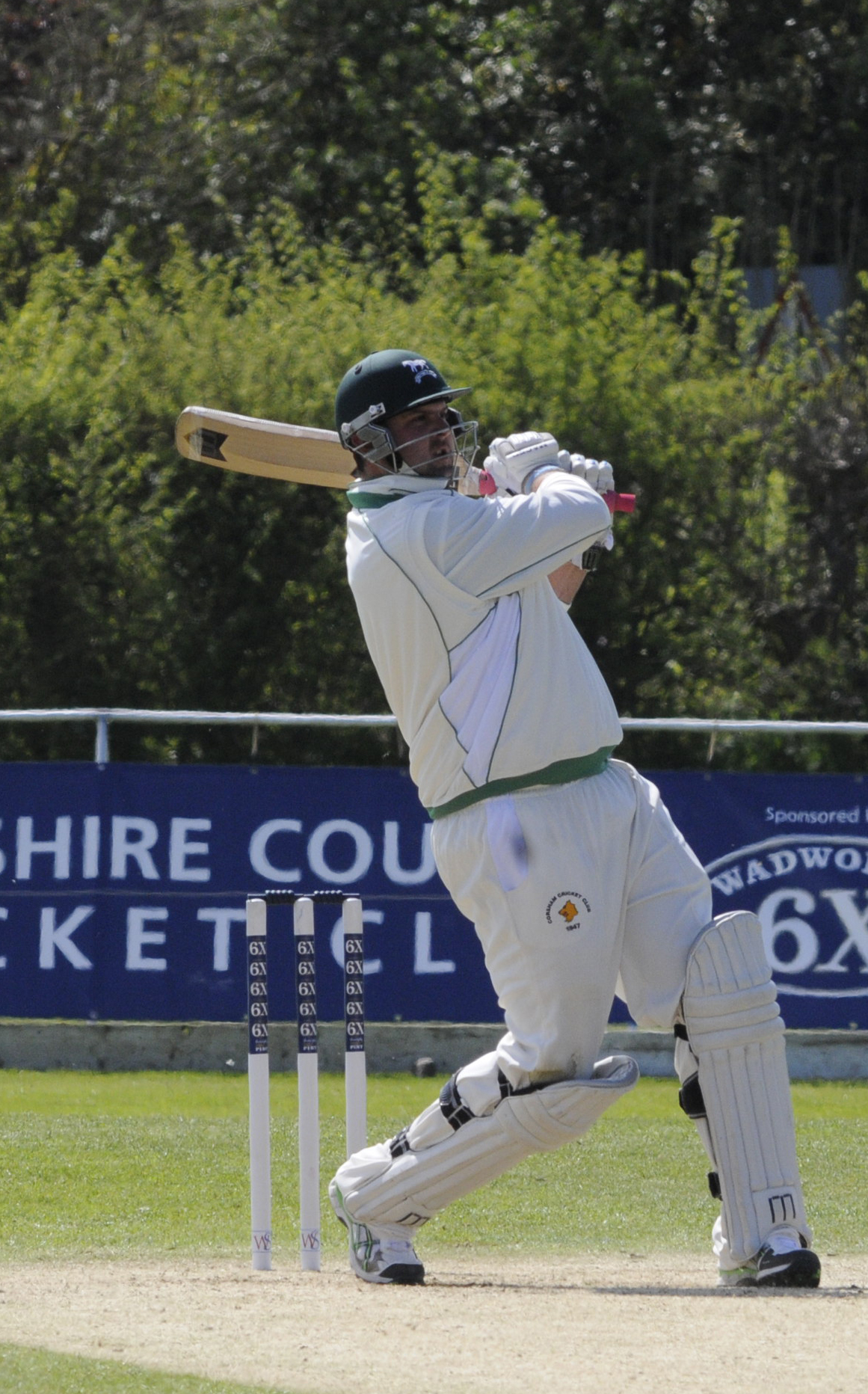 Corsham's Mike Coles scored an unbeaten 150 in his side's win over Bridgwater last weekend