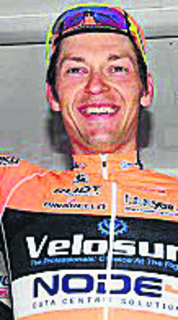 Wiltshire Times: Marcin Bialoblocki, winner of the Cycle Wiltshire Grand Prix on Sunday