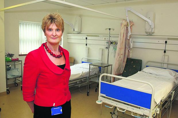 Chief nurse Hilary Walker