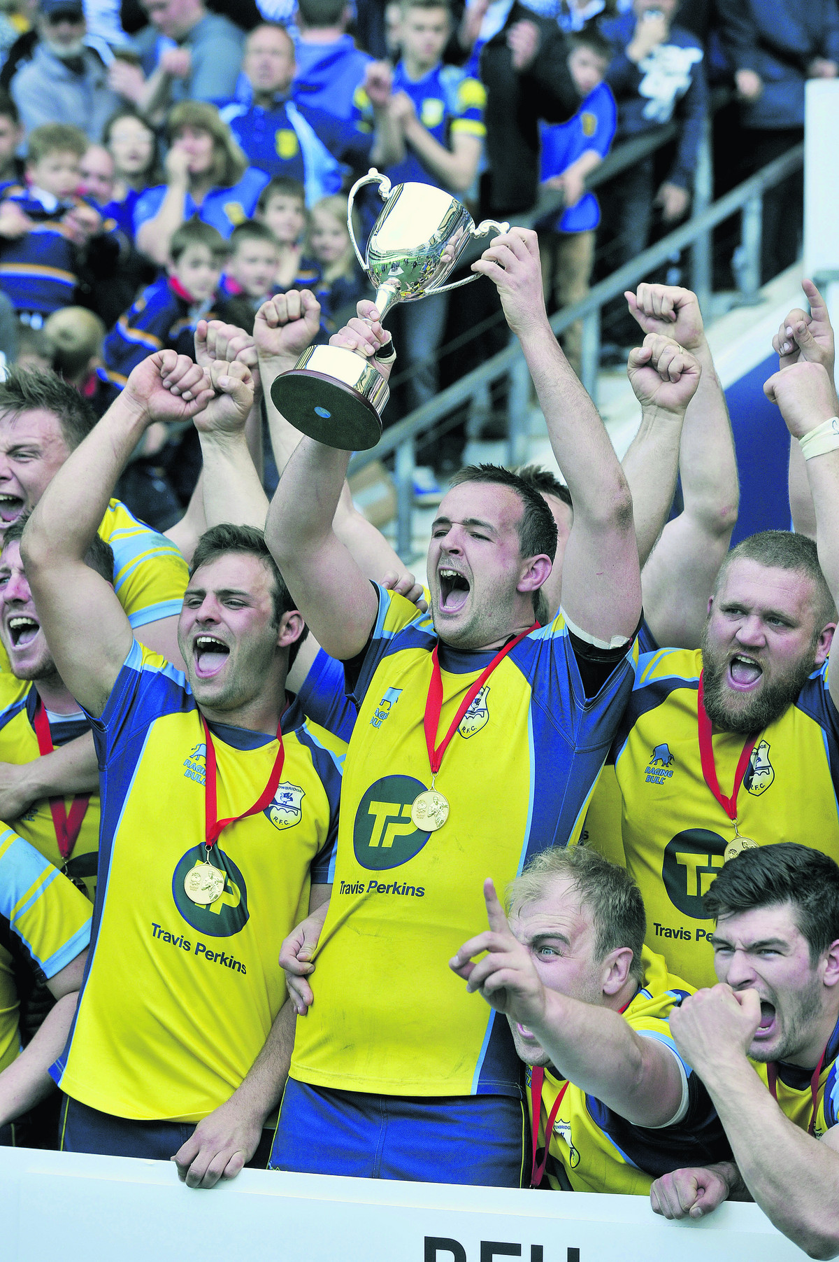 Trowbridge can build on glorious finale, says club president