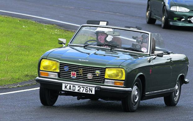 Revving up for Castle Combe's vintage auto sale