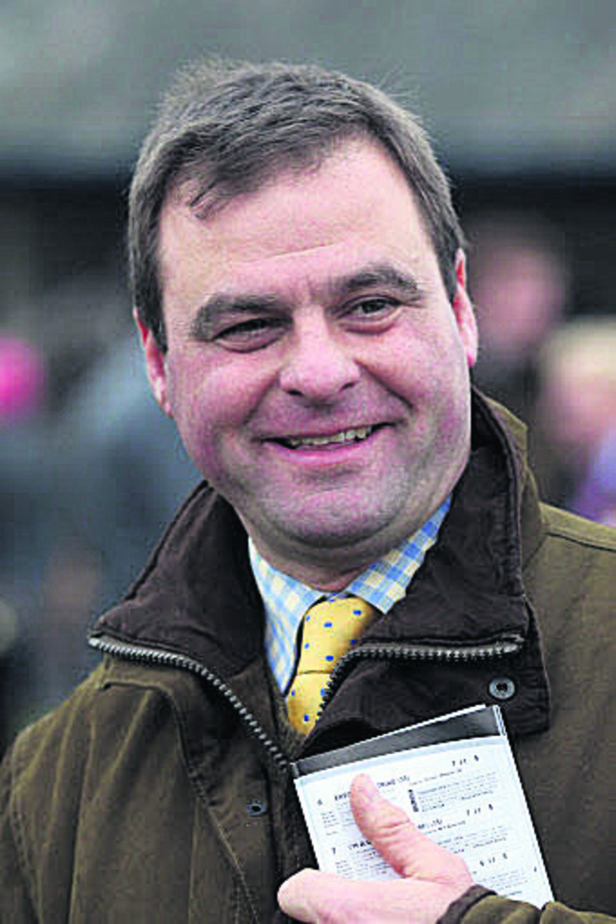 Trainer Neil King