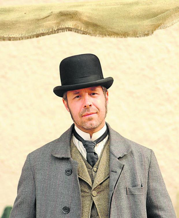 Wiltshire Times: Paddy Considine, in Corsham for filming of ITV Victorian drama The Suspicions of Mr Whicher