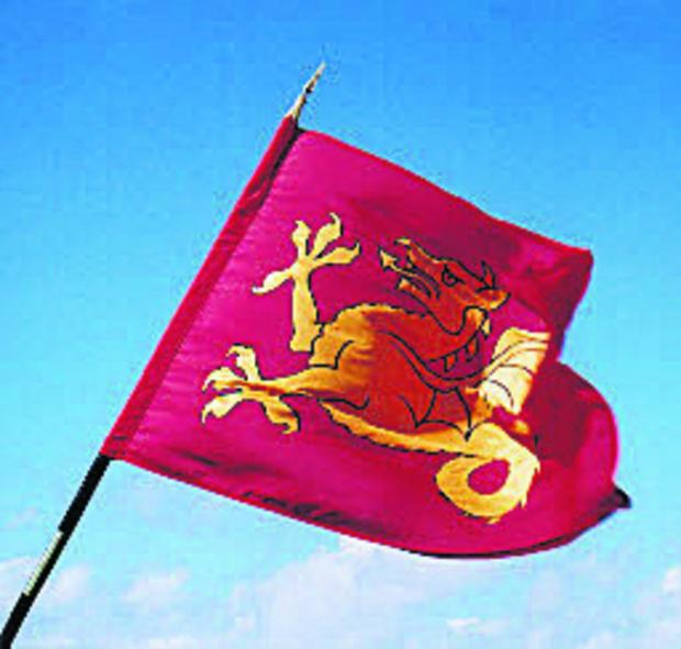 The historic flag of Wessex is to fly again outside of Wiltshire Council's offices this weekend in celebration of St Aldhelm's Day