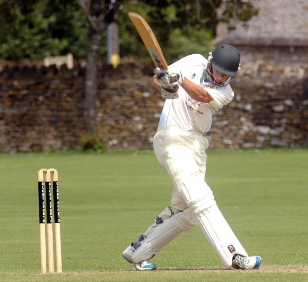 Wiltshire Times: Toby Davies went for a duck as Corsham Town were beaten by Downend last weekend