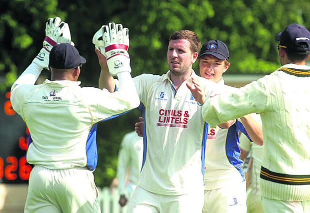 Wiltshire Times: Jake Roberts claimed four Dorset second-innings wickets in Wiltshire's victory