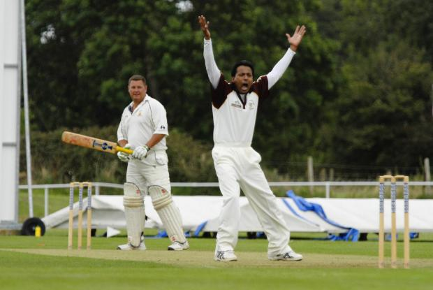 Naeem Khan took three wickets for Biddestone