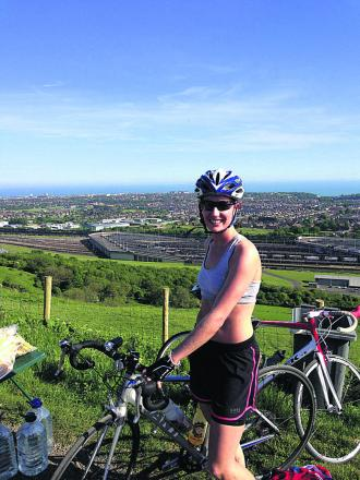 Melksham woman back in saddle for epic cycle