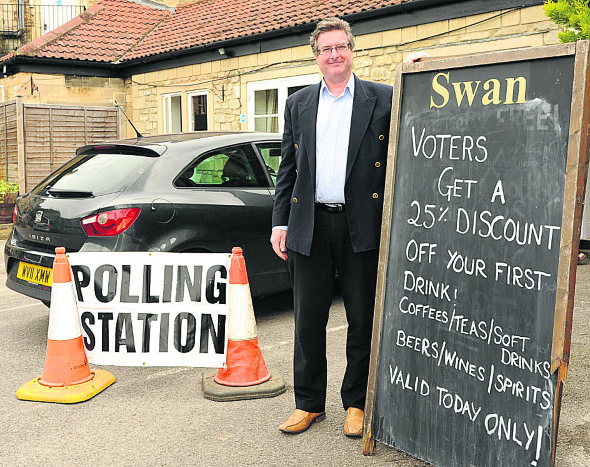 Steady stream of Wiltshire voters in Euro elections