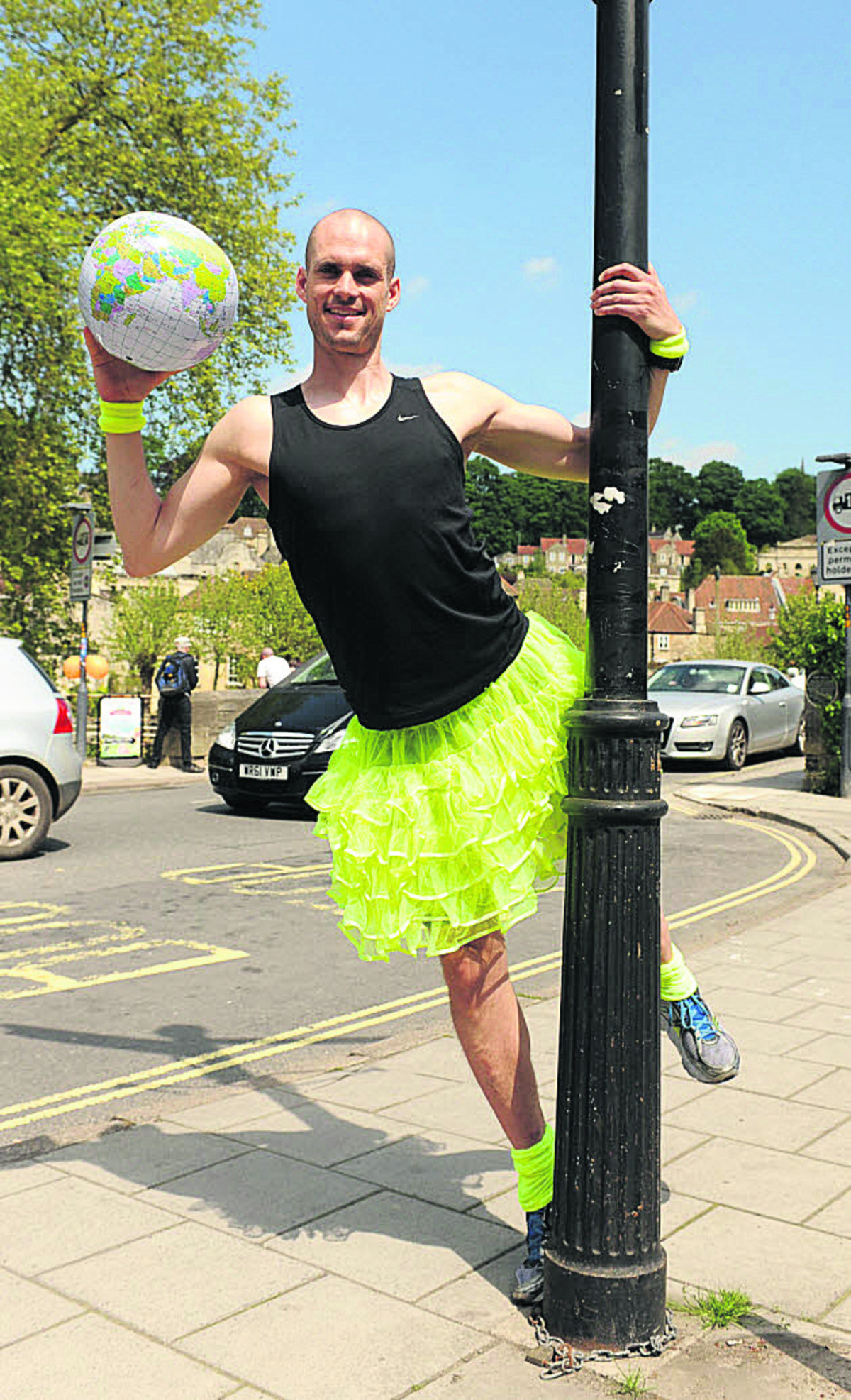 Former St Laurence School pupil Ben Hammond is eyeing a 17,643-mile danceathon for UNICEF