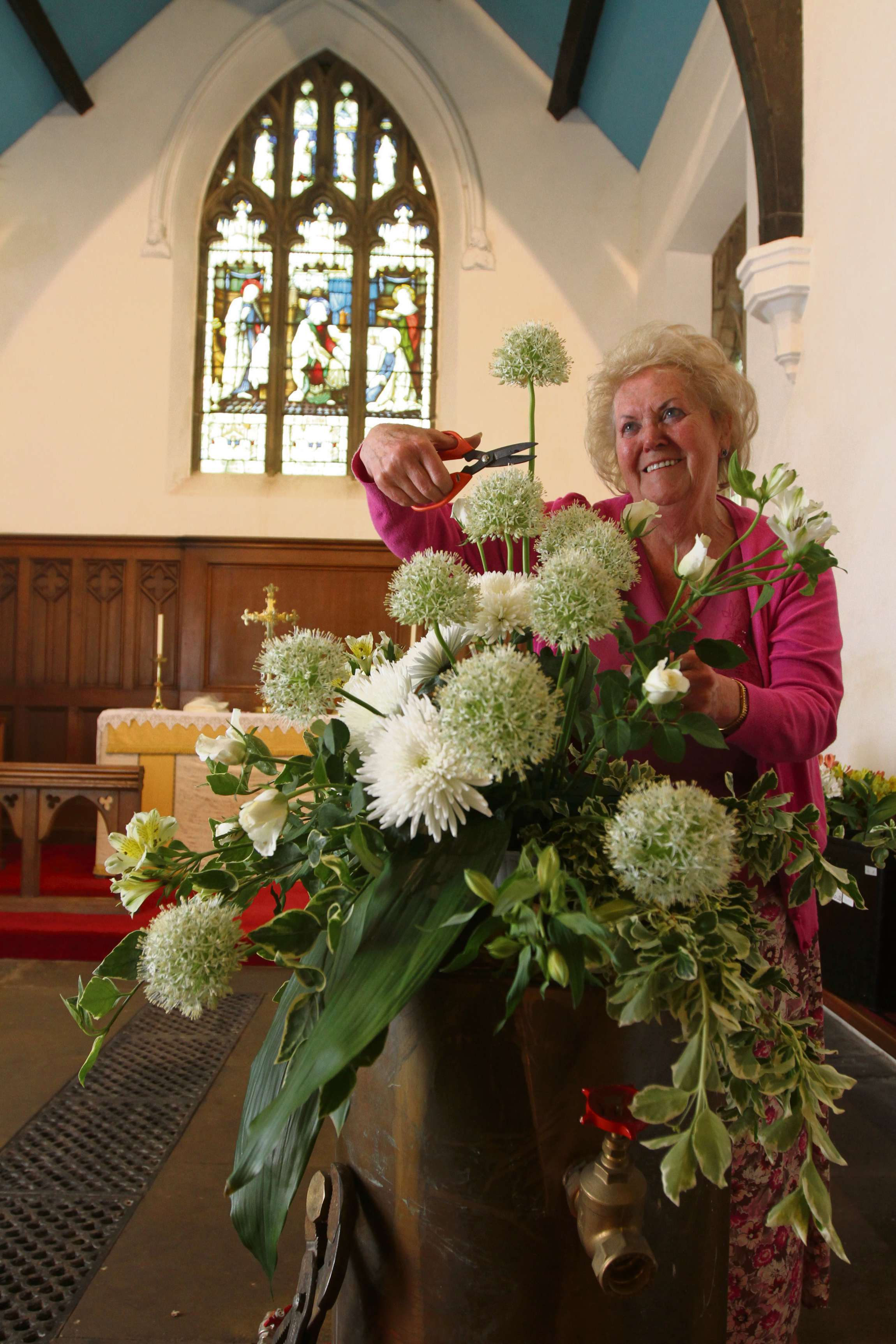 Flower festival bound to be a Shaw-fired success