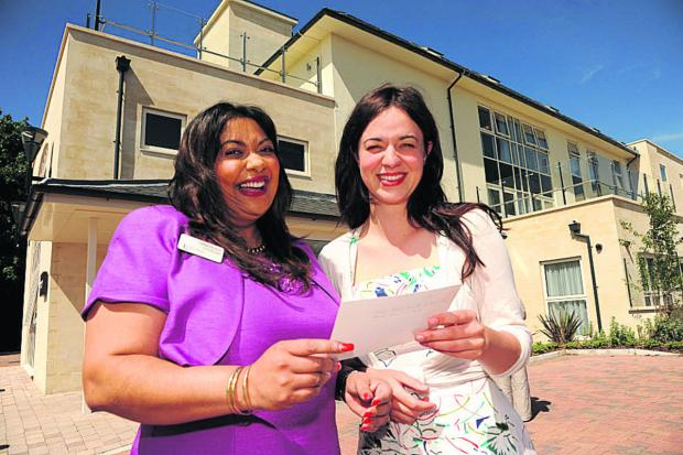 Selvie Naidoo with Frances Tophill of ITV's Love Your Garden