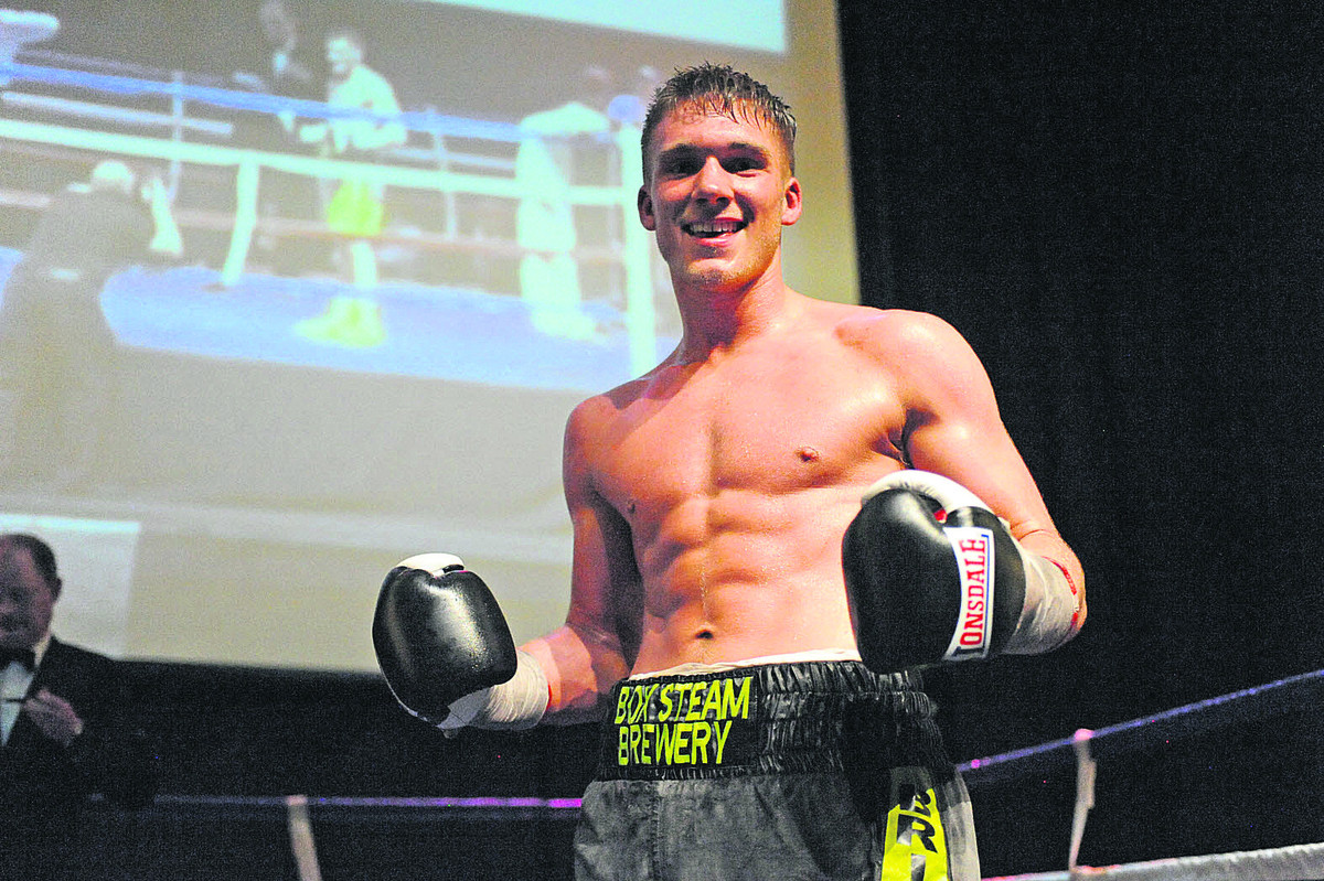 Trowbridge middleweight Nick 'Bang Bang' Blackwell is willing to take on all comers