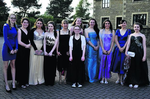 Girls looking gorgeous for the St Augustine's Catholic College Year 11 Prom
